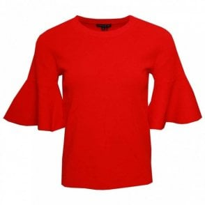 Leo Guy 3/4 Bell Sleeve Jumper