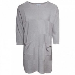 Passioni 3/4 Sleeve Long Tunic Style Jumper