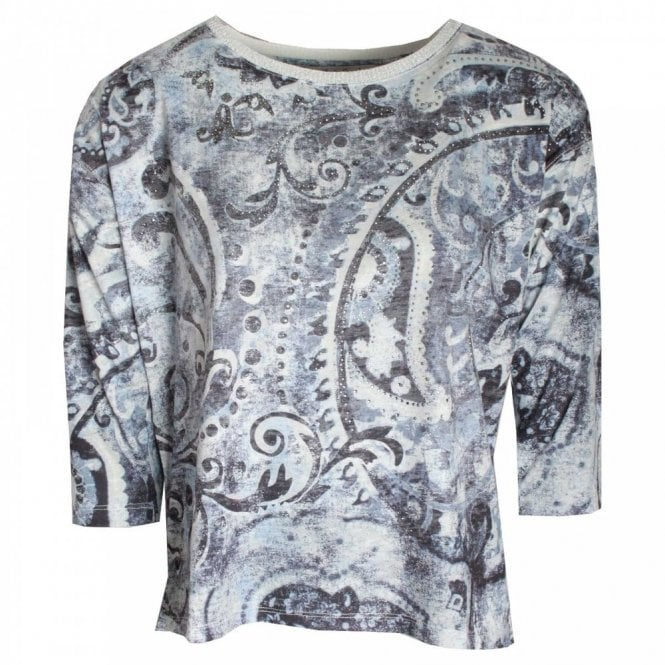Betty Barclay 3/4 Sleeve Printed Blouse Top