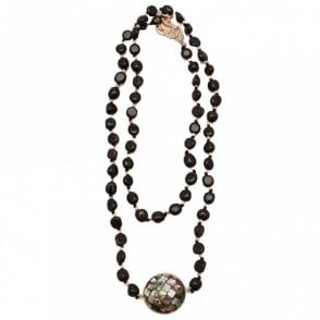 Abalone Shell Agate Mid Necklace