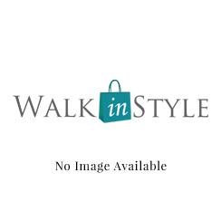 Popular Ladies U0026#39;Hettau0026#39; White/Silver Double Velcro Strap Sandal