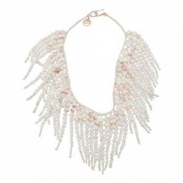 Albertine Freshwater Sea/shell Necklace