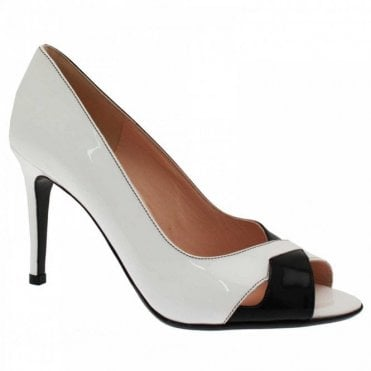 Alda Peep Toe High Heel Court Shoe