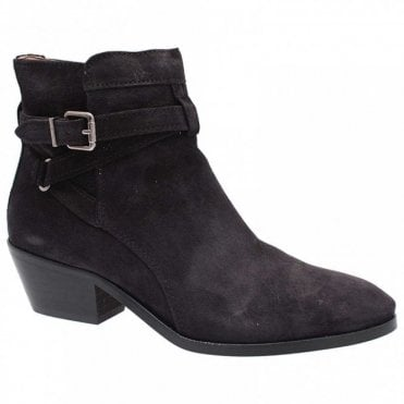 Cuben Heel Side Zip Ankle Boot