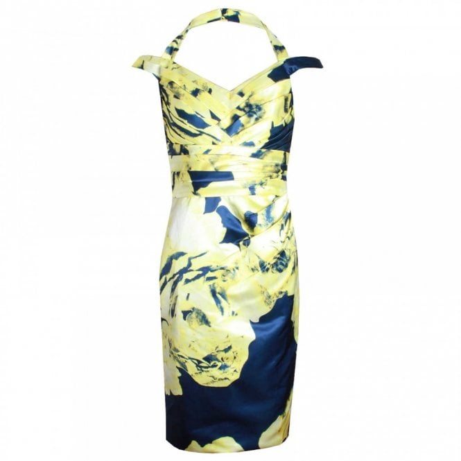 Dress Code By Veromia Alter Neck Sleeveless Printed Dress