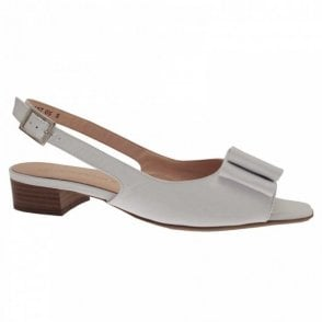580620d2e7a Low Heel Peep Toe Sandal By Caprice At Walk In Style