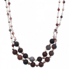 Annetta Beaded Long Necklace