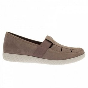 Arisaig Flat Shoe With Elasticated Strap