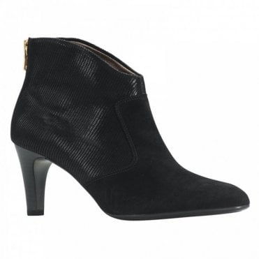 Back Zip Ankle Boot
