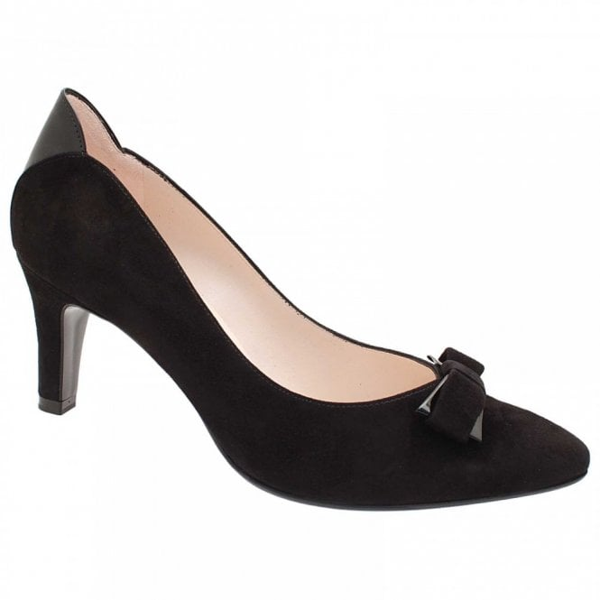 Peter Kaiser Balita Mid Heel Court Shoe With Bow