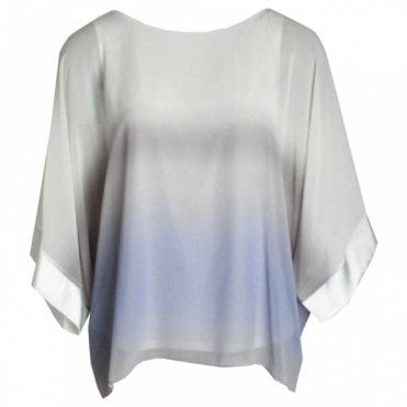 Frank Lyman Batwing Soft Tie Dye Loose Fit Top