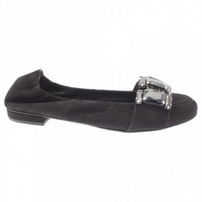 Kennel Und Schmenger Big Diamante Band Ballet Pump