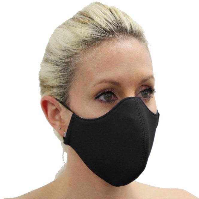 Face cover mask Black face mask with filter and nose wire