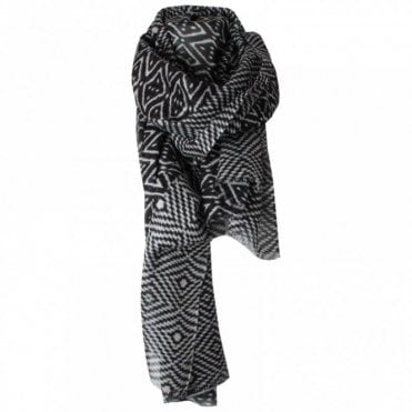 Black Pepper Long Scarf