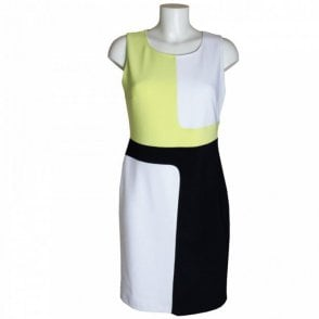 Joseph Ribkoff Block Colour Shift Dress