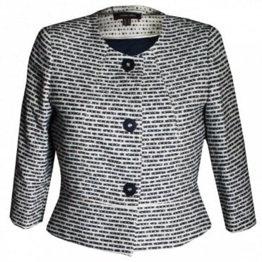 Blue Wave Women's Tweed Jacket