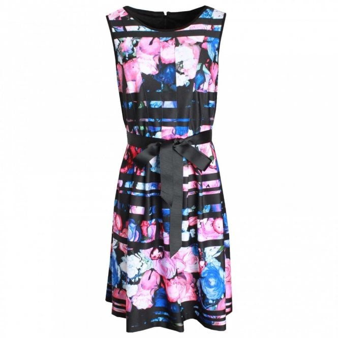 Frank Lyman Bold Print Sleeveless Dress