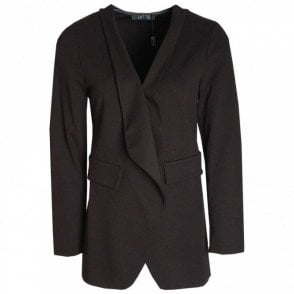 Boyfriend Style Waterfall Front Jacket