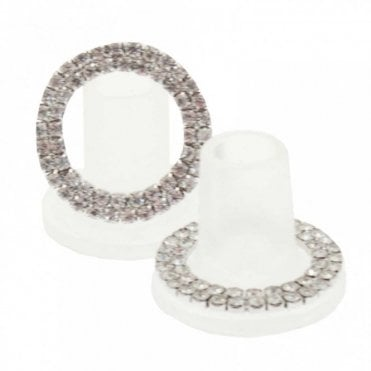 Bridal/races Crystal Heel Stoppers