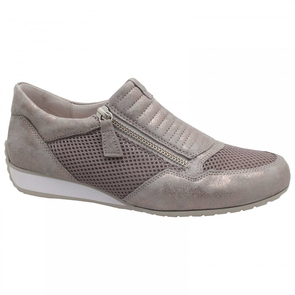 Side Zip Trainers By Gabor