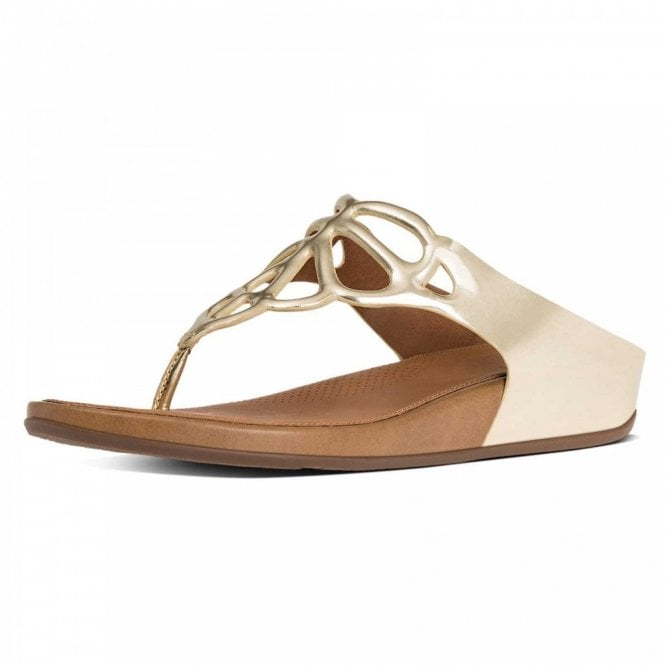 Fitflop™ Bumble™ Leather Toe-post Sandal
