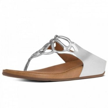 Bumble™ Leather Toe-post Sandal