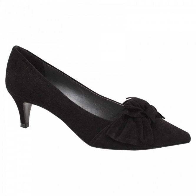 Peter Kaiser Carry Low Kitten Heel Court Shoe