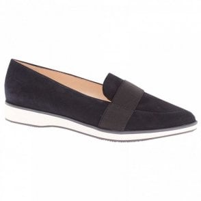 Cecilia Pointed Toe Suede Moccasin