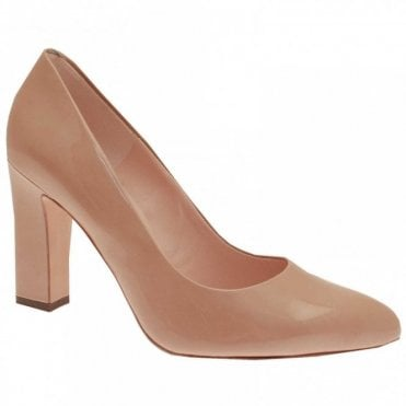 Celina Block Heel Court Shoe