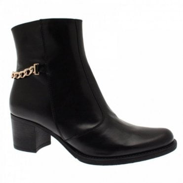Chain Detail Ankle Boot