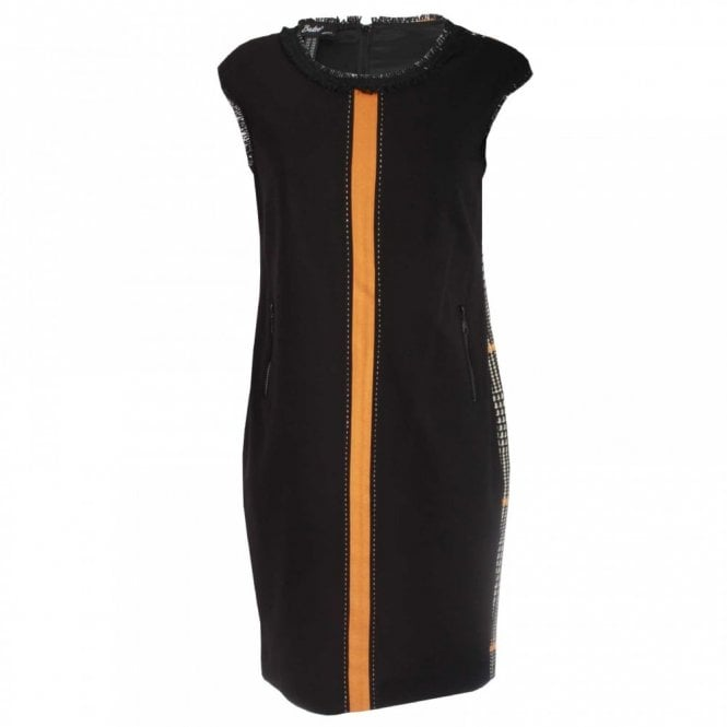 Badoo Check Back Sleeveless Shift Dress