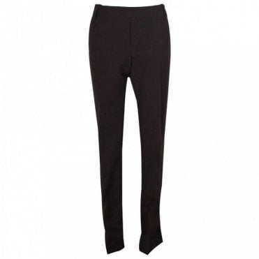 Up! Classic Black Pull On Trousers