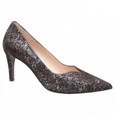 Classic High Heel Court Shoe With V-cut