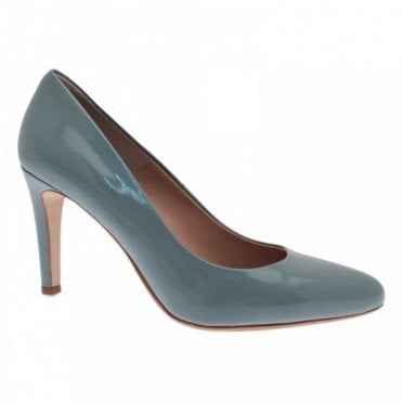 Classic High Heel Leather Court Shoe