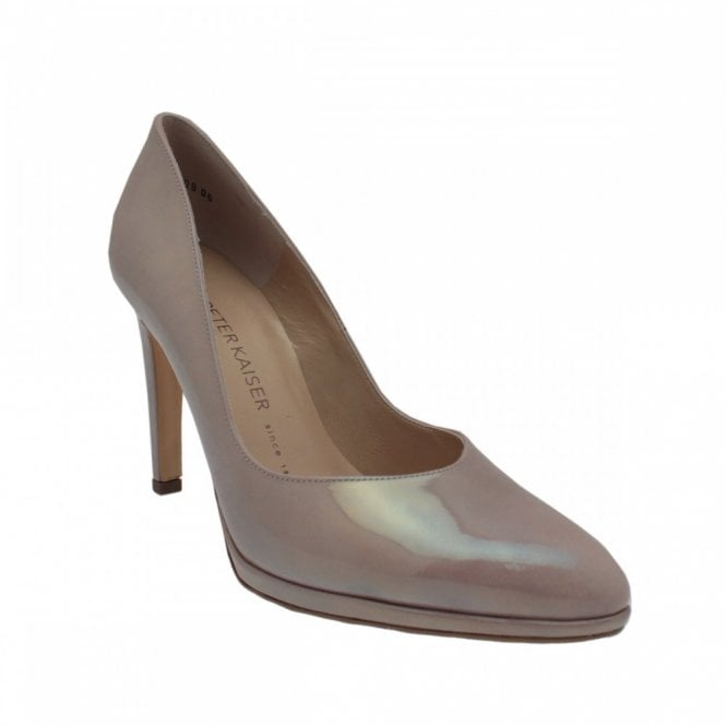 Peter Kaiser Classic High Heel Platform Court Shoe
