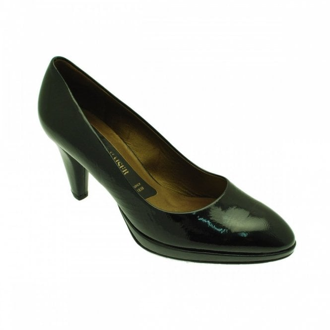 Peter Kaiser Classic Leather Platform Court Shoes