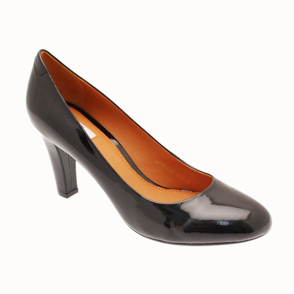 High Court Patent Heel Geox Classic Leather nOk0P8wX