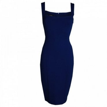 Classic Strap Pencil Dress