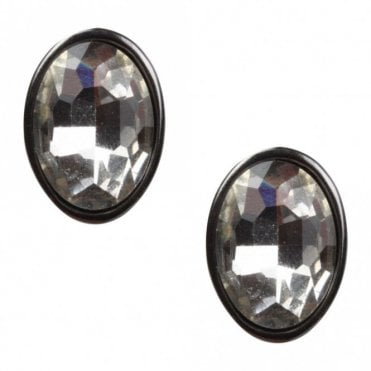 Dante Clip On Diamante Earrings