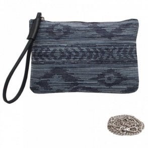 Clutch Bag With Wrist & Shoulder Strap
