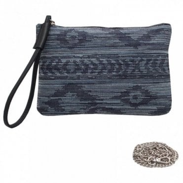 Peter Kaiser Clutch Bag With Wrist & Shoulder Strap