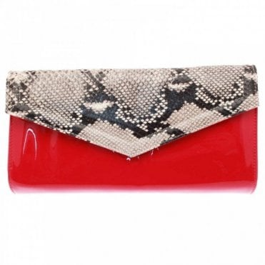 Clutch Handbag With Shoulder Strap