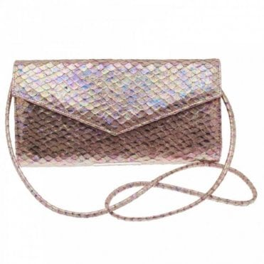 Renata Clutch Handbag With Shoulder Strap