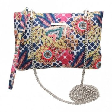 Peter Kaiser Clutch Handbag With Wrist Strap