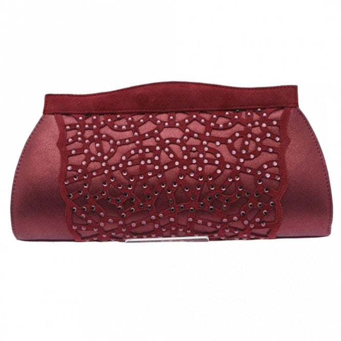 Magrit Clutch With Chain Diamonte