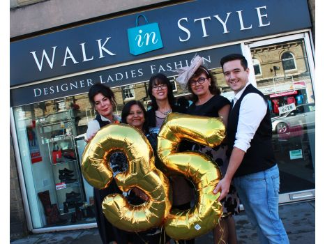 Walk in Style Saltaire 35 years