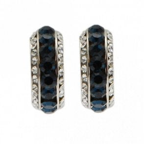 Nour London Coloured Crystal And Diamante Earrings