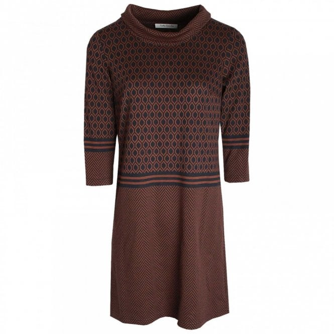 Betty Barclay Cowl Neck Knitted Dress