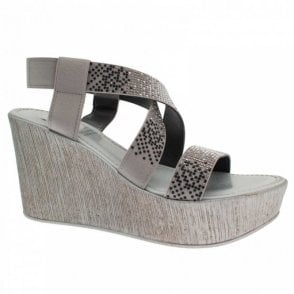 Cross Over Strap Wedge