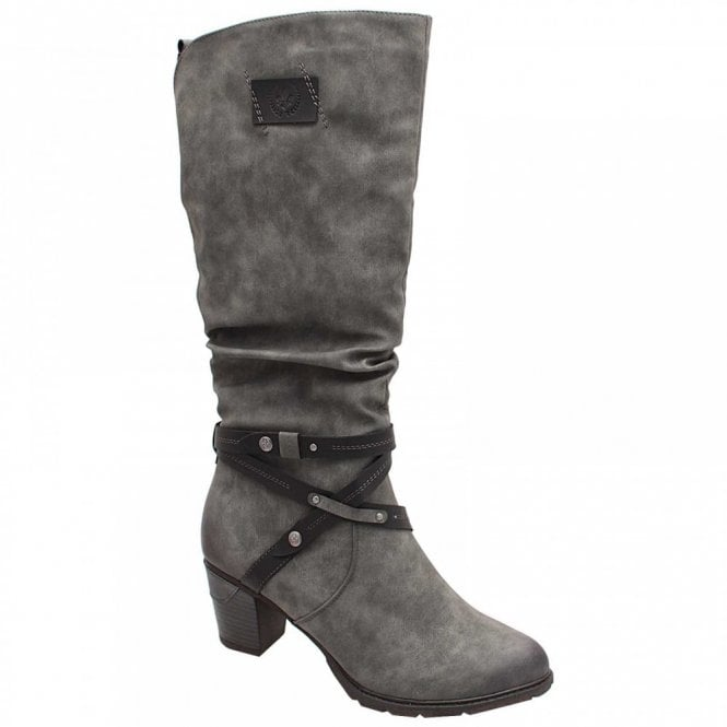 Rieker Crossover Strap Long Boot